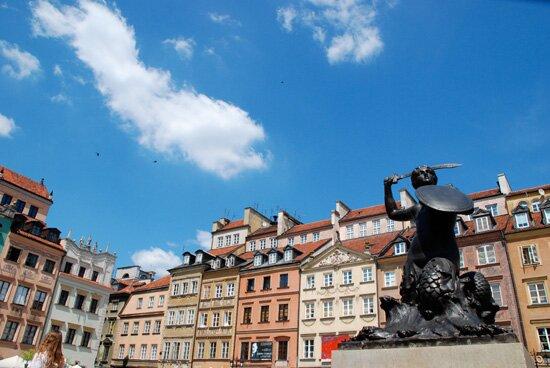 stare kamienice Warszawy